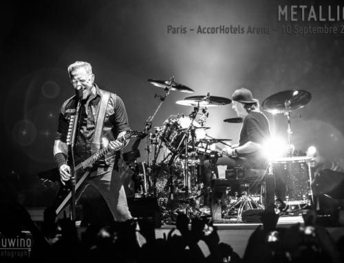 METALLICA – Paris – AccorHotels Arena – 10 Septembre 2017