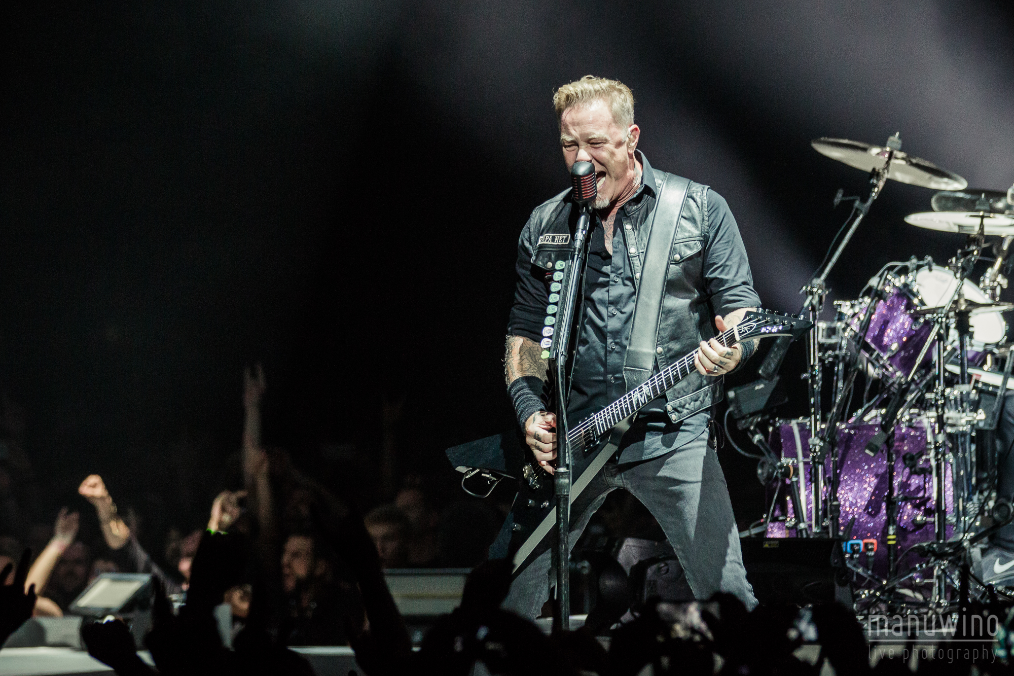 Metallica paris accorhotels arena 10 septembre 2017 manuwino - Salon paris septembre 2017 ...