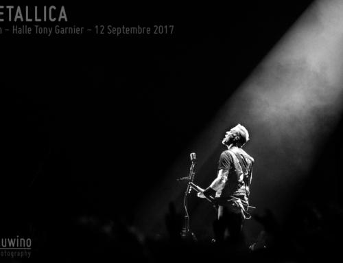 METALLICA – Lyon – Halle Tony Garnier – 12 Septembre 2017