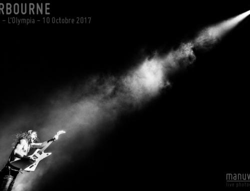 AIRBOURNE – Paris – L'Olympia – 10 Octobre 2017