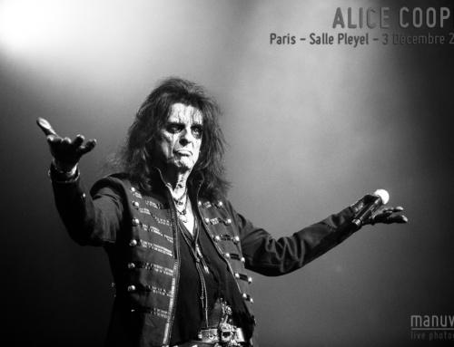 ALICE COOPER – Paris – Salle Pleyel – 3 Décembre 2017