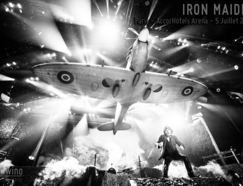 IRON MAIDEN – Paris – AccorHotels Arena – 5 Juillet 2018