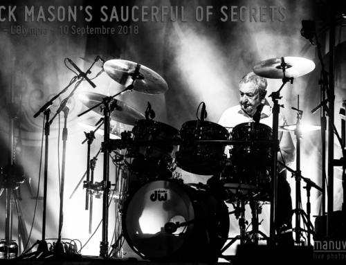 NICK MASON'S SAUCERFUL OF SECRETS – Paris – L'Olympia – 10 Septembre 2018