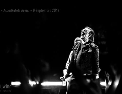 U2 – Paris – AccorHotels Arena – 9 Septembre 2018