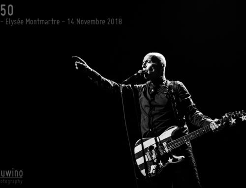MC50 – Paris – Elysée Montmartre – 14 Novembre 2018