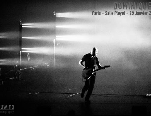 DOMINIQUE A – Paris – Salle Pleyel – 29 Janvier 2019