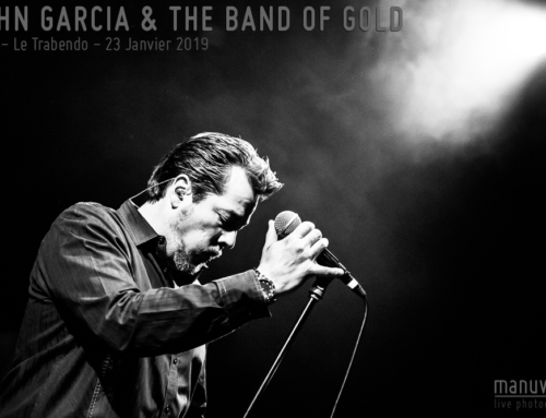 JOHN GARCIA & THE BAND OF GOLD – Paris – Le Trabendo – 23 Janvier 2019