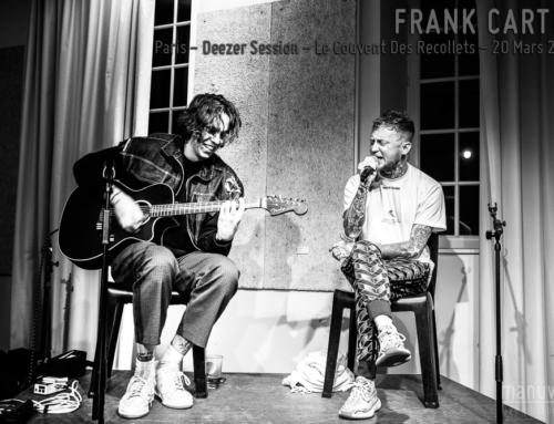 FRANK CARTER – Paris – Deezer Session – Couvent des Recollets – 11 Mars 2019