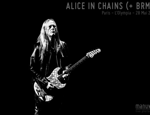 ALICE IN CHAINS (+ BLACK REBEL MOTORCYCLE CLUB) – Paris – L'Olympia – 28 Mai 2019