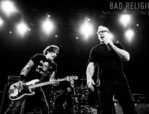 BAD RELIGION – Paris – Le Trianon – 7 Mai 2019