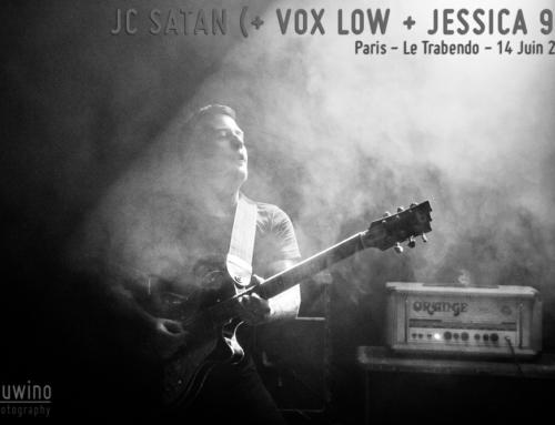 JC SATAN + VOX LOW + JESSICA 93 – Paris – Le Trabendo – 14 Juin 2019