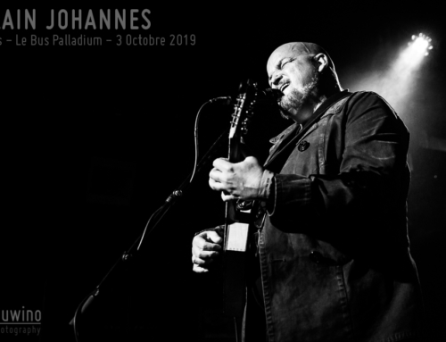 ALAIN JOHANNES – Paris – Le Bus Palladium – 3 Octobre 2019