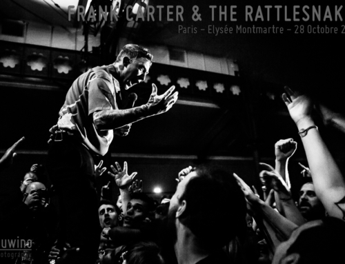 FRANK CARTER & THE RATTLESNAKES – Paris – Elysée Montmartre – 28 Octobre 2019