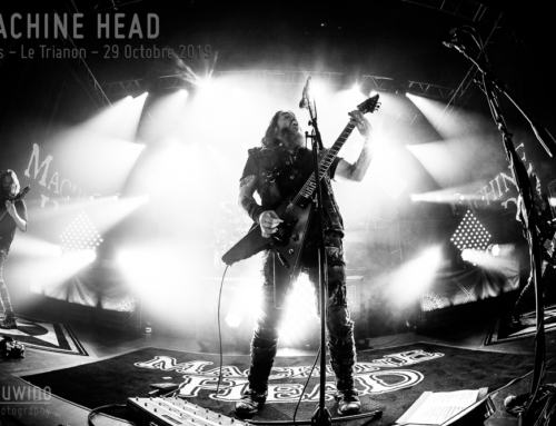 MACHINE HEAD – Paris – Le Trianon – 29 Octobre 2019