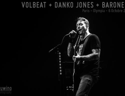 VOLBEAT (+ DANKO JONES + BARONESS) – Paris – L'Olympia – 6 Octobre 2019
