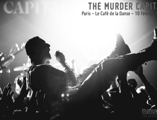 THE MURDER CAPITAL – Paris – Le Café de la Danse – 10 Février 2020