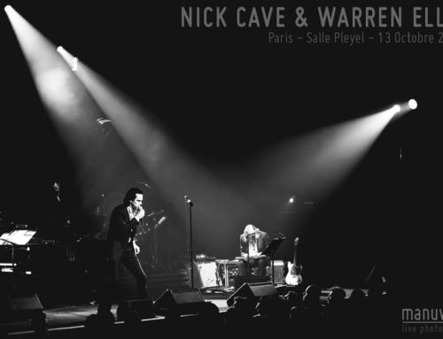NICK CAVE & WARREN ELLIS – Paris – Salle Pleyel – 13 Octobre 2021
